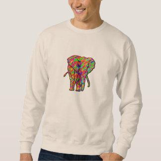 Spritzen-Elefant Sweatshirt