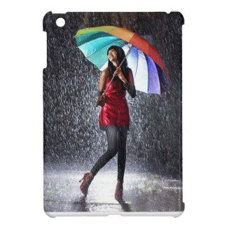 Spritzen im Regen iPad Mini Hülle