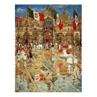 Spritzen Maurice Prendergast- des Sonnenscheins Postkarten