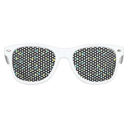 Spritzer-abstraktes dunkles Muster Kinder Sonnenbrillen