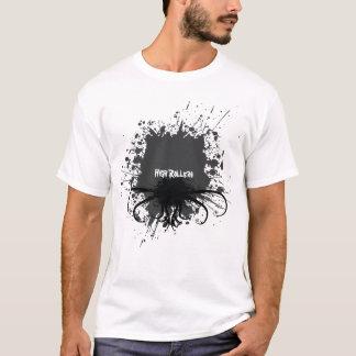 Spritzer auf Licht T-Shirt