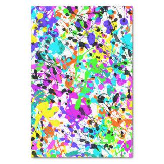 Spritzer-Farbe Seidenpapier