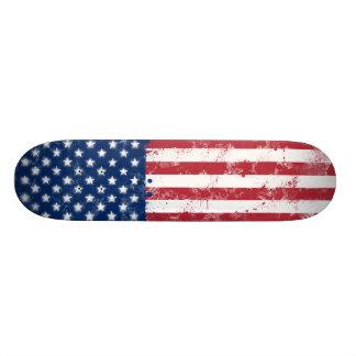 Spritzer gemalte Flagge der USA 18,1 Cm Old School Skateboard Deck