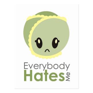 Sprössling - jeder hasst mich Postkarte