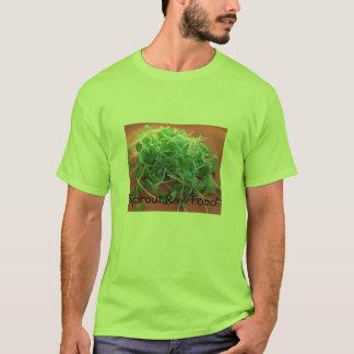 Sprösslings-rohe Nahrung T-Shirt