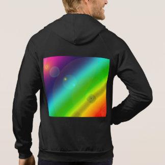 Sprudelnder Regenbogen Hoodie