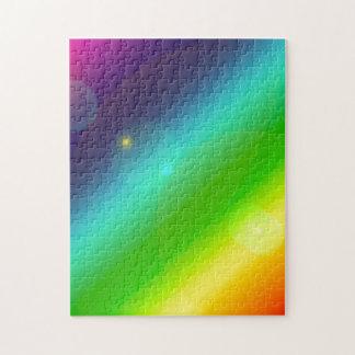 Sprudelnder Regenbogen Puzzle
