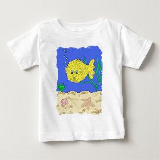 Sprudelt der Blowfish Baby T-shirt