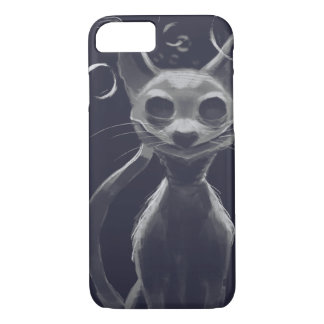Sprudelt die Sphynx Katze iPhone 8/7 Hülle