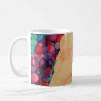 Sprudelt großer Extradruck der Kaffee-Tasse Kaffeetasse