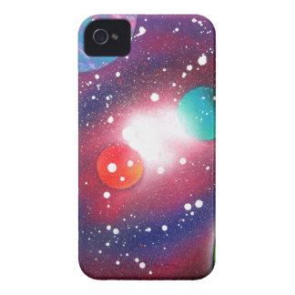 Sprühfarbe-Kunst-Raum-Galaxie-Malerei iPhone 4 Hüllen