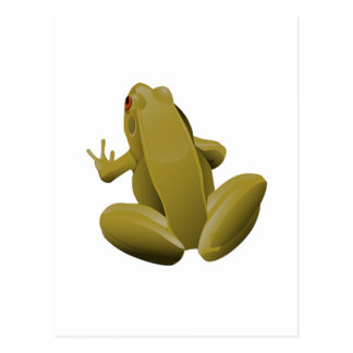 Sprungs-Frosch Postkarte