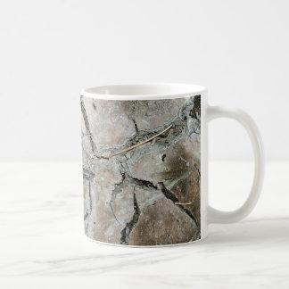 Sprungserde Kaffeetasse