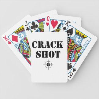Sprungsschuß Spielkarten