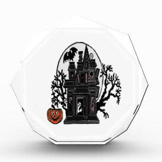 Spuk Haus Acryl Auszeichnung
