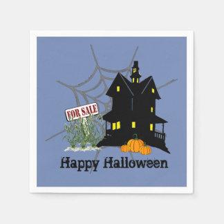 Spuk Haus für Verkaufs-Papierservietten Serviette