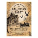 Spuk Haus-Halloween-Party-Einladung