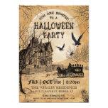 Spuk Haus-Halloween-Party-Einladung 12,7 X 17,8 Cm Einladungskarte