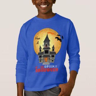 Spuk Haus Halloween T-Shirt