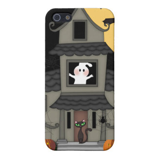 Spuk Haus Halloweens iPhone 5 Hülle