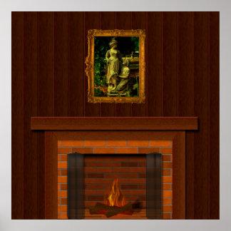 kamin poster designs. Black Bedroom Furniture Sets. Home Design Ideas