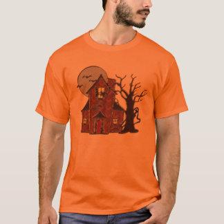 Spuk Haus-T - Shirt Halloweens