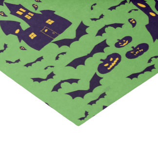 Spuk Nacht, Halloween-Gewebe Seidenpapier