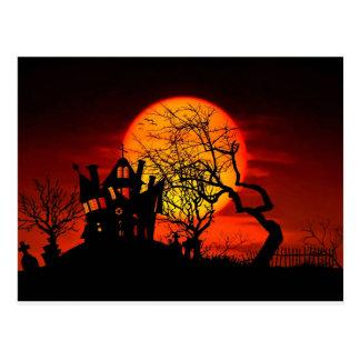 SPUK NACHT, SPUK HAUS! (Halloween) ~ Postkarte