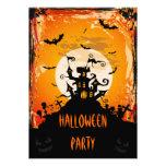 Spuk Schloss-Halloween-Party Personalisierte Ankündigungskarte