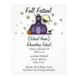 Spuk Schoolhouse-Schulhalloween-Fall-Festival 21,6 X 27,9 Cm Flyer