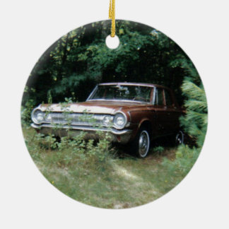 Spukste Auto der Welt das - das Goldeneagle - 1964 Keramik Ornament