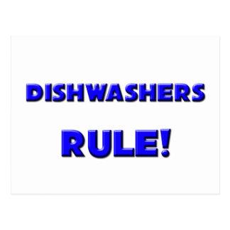Spülmaschinen-Regel! Postkarten