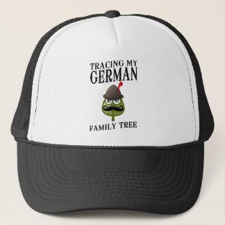 Spur meines deutschen Stammbaums Truckerkappe