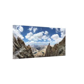 Spur Mt Whitney - John Muir-Spur Leinwanddruck