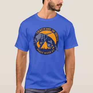 Spurhaltung im Antrieb T-Shirt