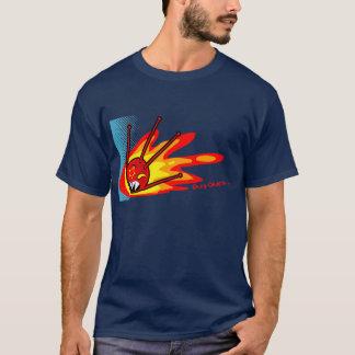 Sputnik auf Feuer T-Shirt