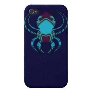 Spyder Blau-Tätowierung Etui Fürs iPhone 4