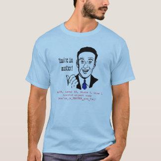 Sql-Vorlagendatenbank-lustiger T - Shirt