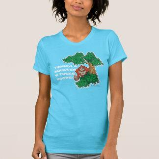 Squatch im Holz T-Shirt