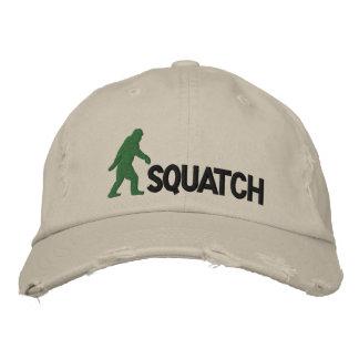 squatch mit großem Bigfoot-Logo Bestickte Baseballkappe