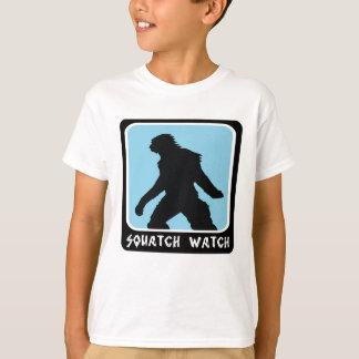 Squatch Uhr - Sasquatch Bigfoot Jäger T-Shirt