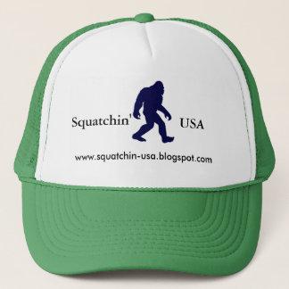 Squatchin USA die Kappe Fernlastfahrers