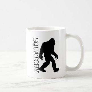 SQUATCHY SILHOUETTE Shirt - spezielle *BFRO* Kaffeetasse