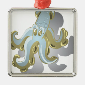 Squidy Silbernes Ornament