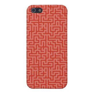 Squiggle iphone Fall iPhone 5 Cover