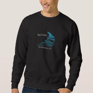 Squiggly Lines_Just Cruisin'_ San Francisco Sweatshirt