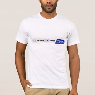 Squirm-u. Mikroben-Schwangerschafts-Test-T - Shirt