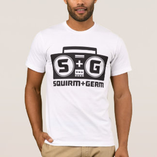 Squirm und Mikrobe offizieller Boombox Logo-T - T-Shirt
