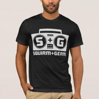 Squirm und Mikrobe offizieller Boombox T - Shirt