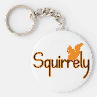 Squirrely Schlüsselanhänger